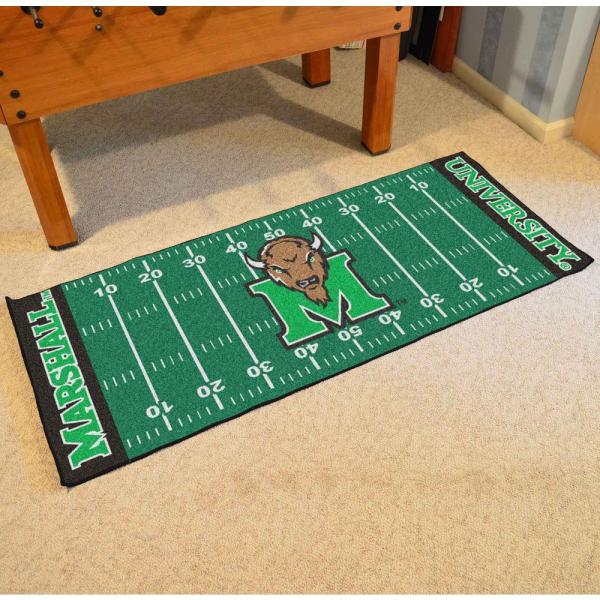 Marshall University Football Area Rug