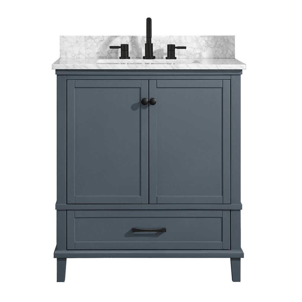 D Bath Vanity In Dark Blue Gray, Bathroom Top Vanity