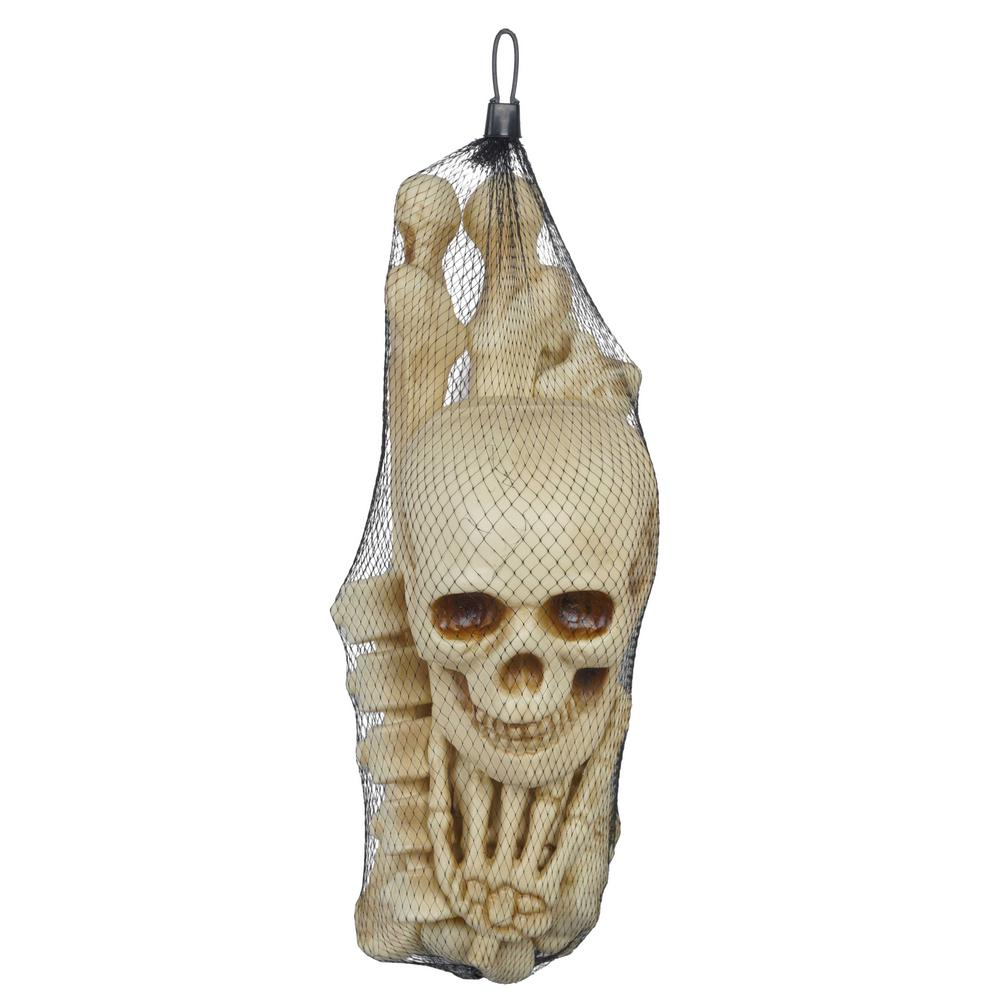 Home Accents Holiday Bag of Bones Halloween Prop (12-Pieces)