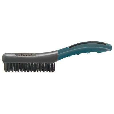 Soft Grip Carbon Wire Brush 4 x 16 Rows