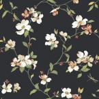 York Wallcoverings Dogwood Wallpaper