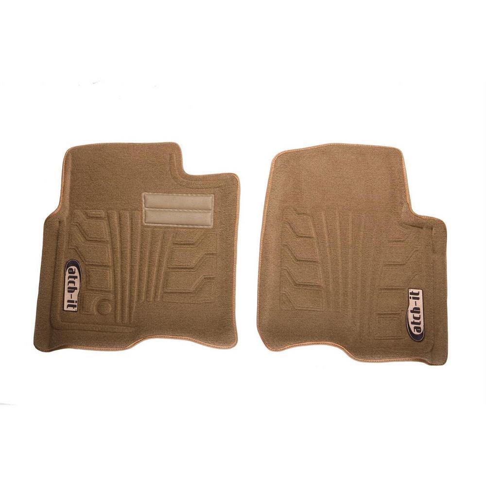 Lund 583029-B Catch-It Carpet Black Front Seat Floor Mat Set of 2