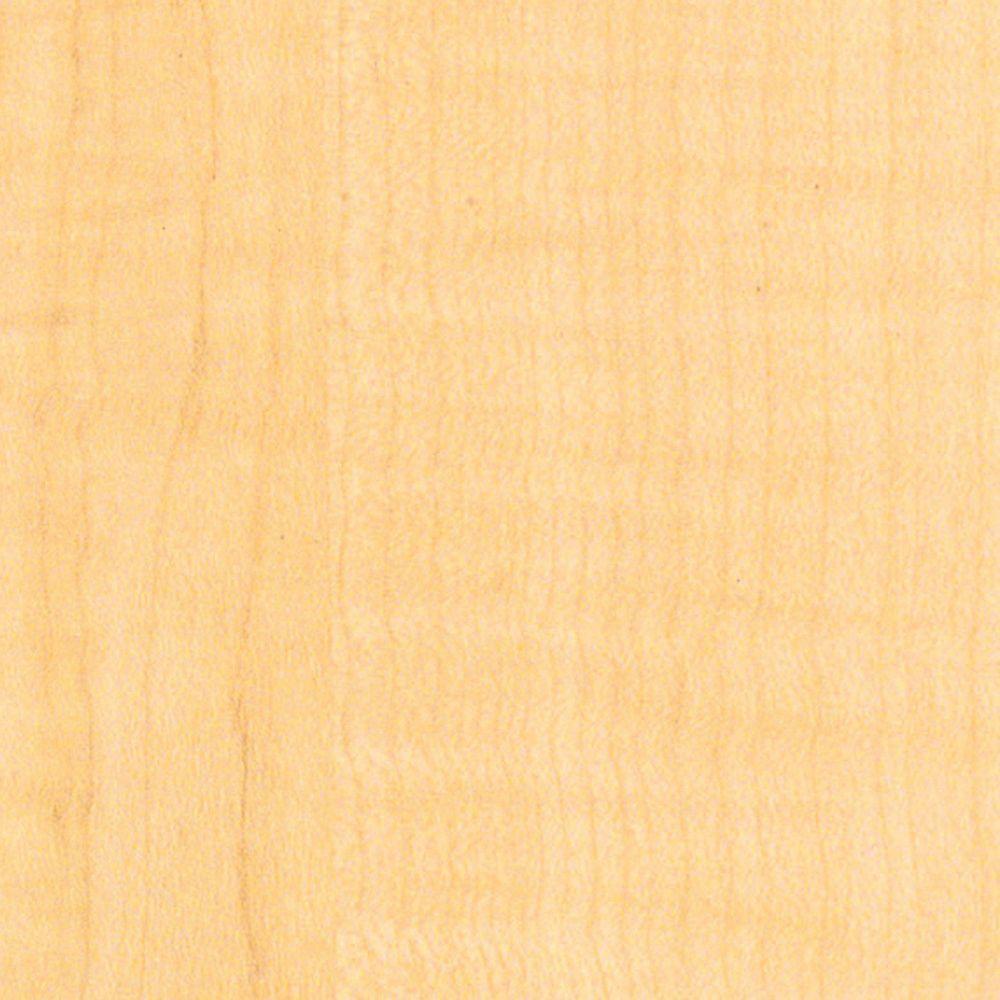 null 3/4 in. x 12 in. x 97 in. Hardrock Maple Thermally-Fused Melamine Shelf