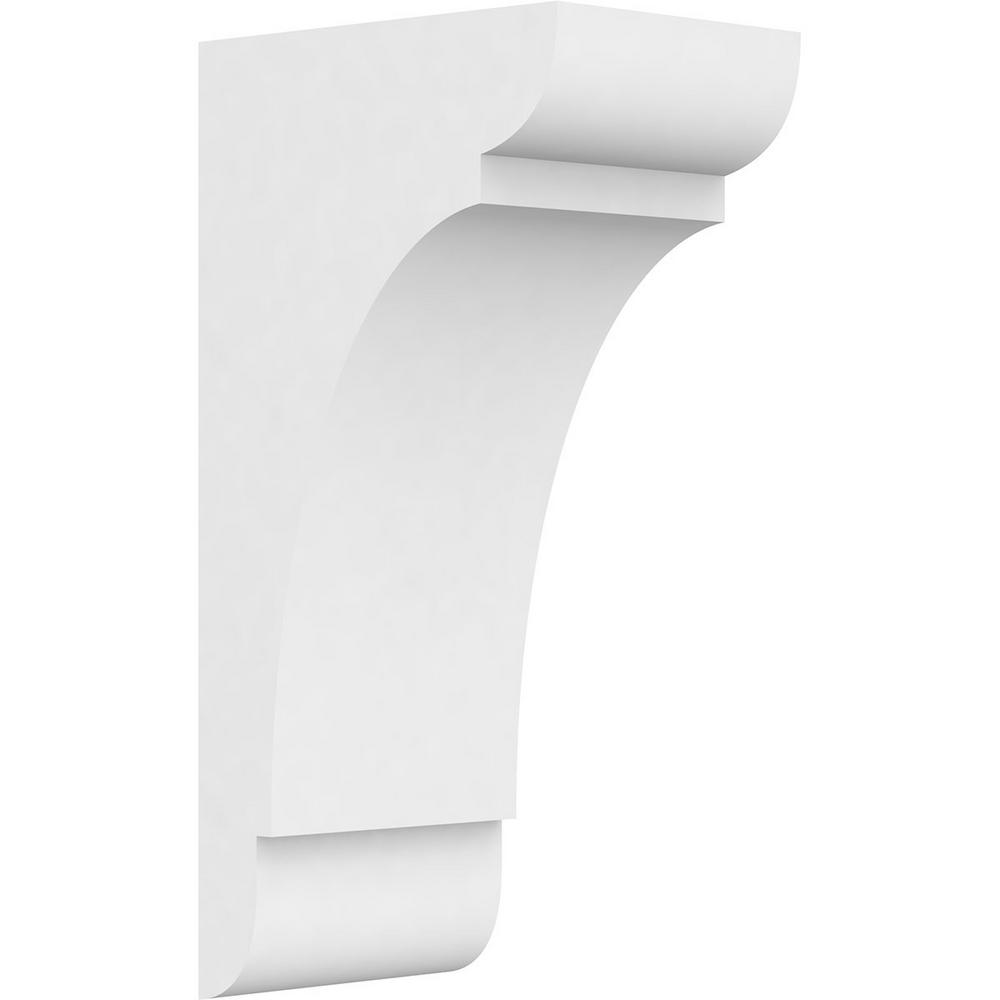 5bf5a002625 7 in. x 20 in. x 10 in. Standard Olympic Architectural Grade PVC Corbel