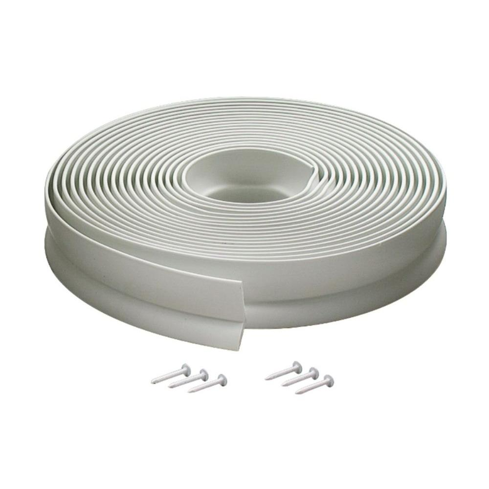 M-D Building Products 1 in. x 30 ft. Vinyl Garage Door Weatherstrip  sc 1 st  The Home Depot & M-D Building Products 1 in. x 30 ft. Vinyl Garage Door Weatherstrip ...