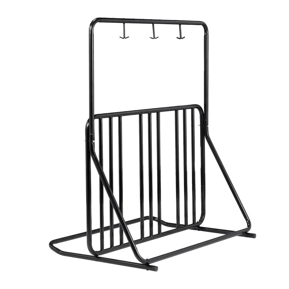 6-Bike Freestanding Bike Rack