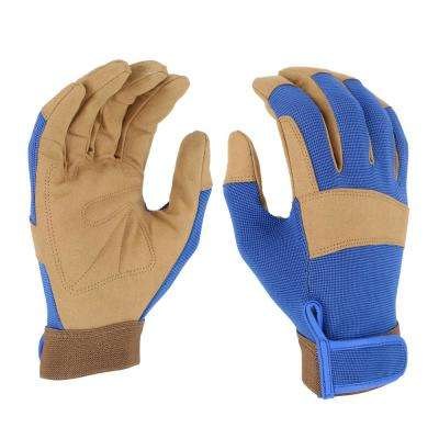 Women's Large HI-Dexterity Synthetic Leather Gloves