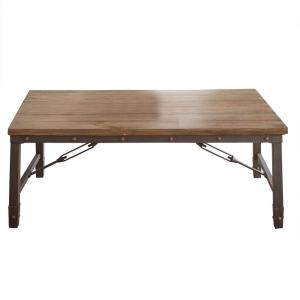 Jersey Antiqued Oak Cocktail Table by