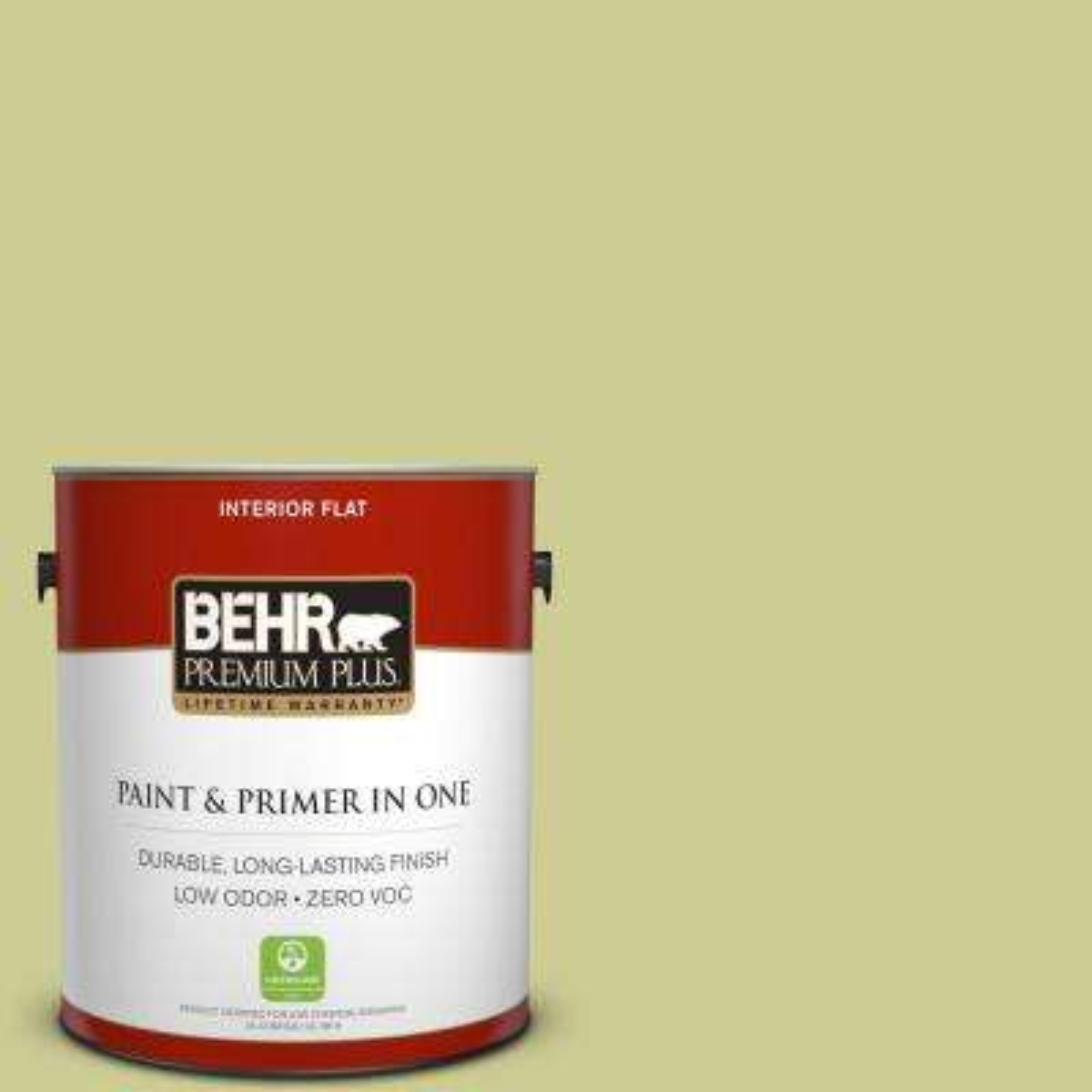 #400D-4 Corn Husk Green Zero VOC Interior Paint