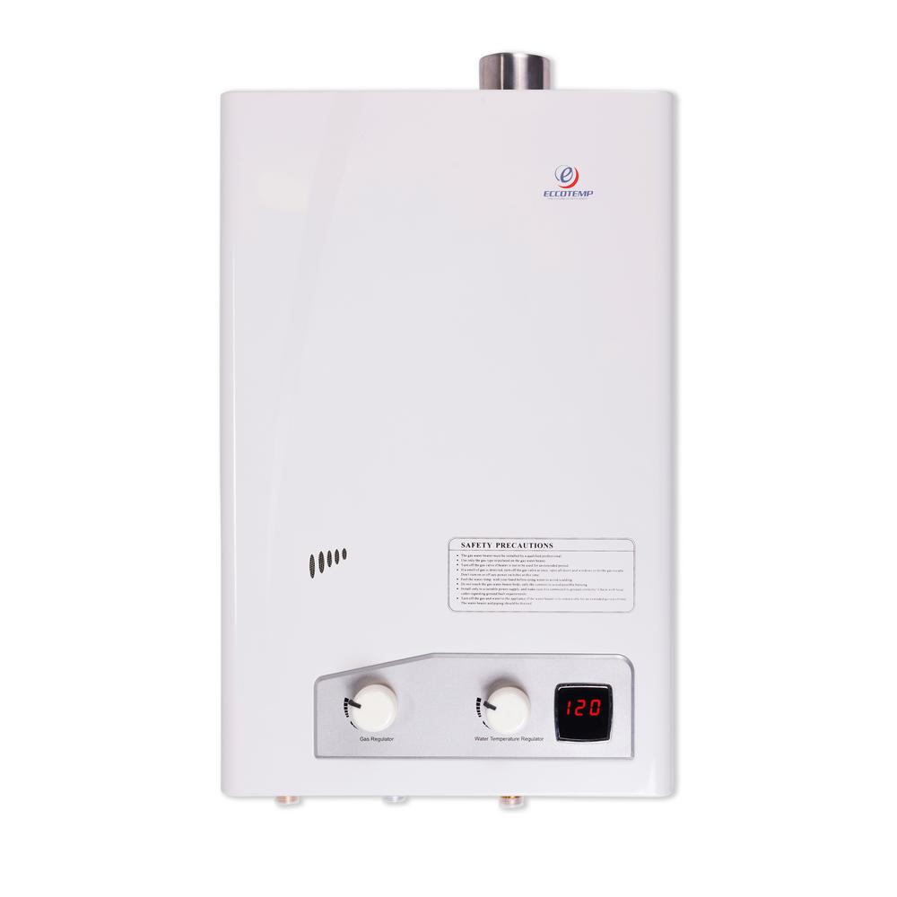 Eccotemp Eccotemp FVI12 4.0 GPM WholeHome/Residential 75,000 BTU Natural Gas Indoor Tankless Water Heater