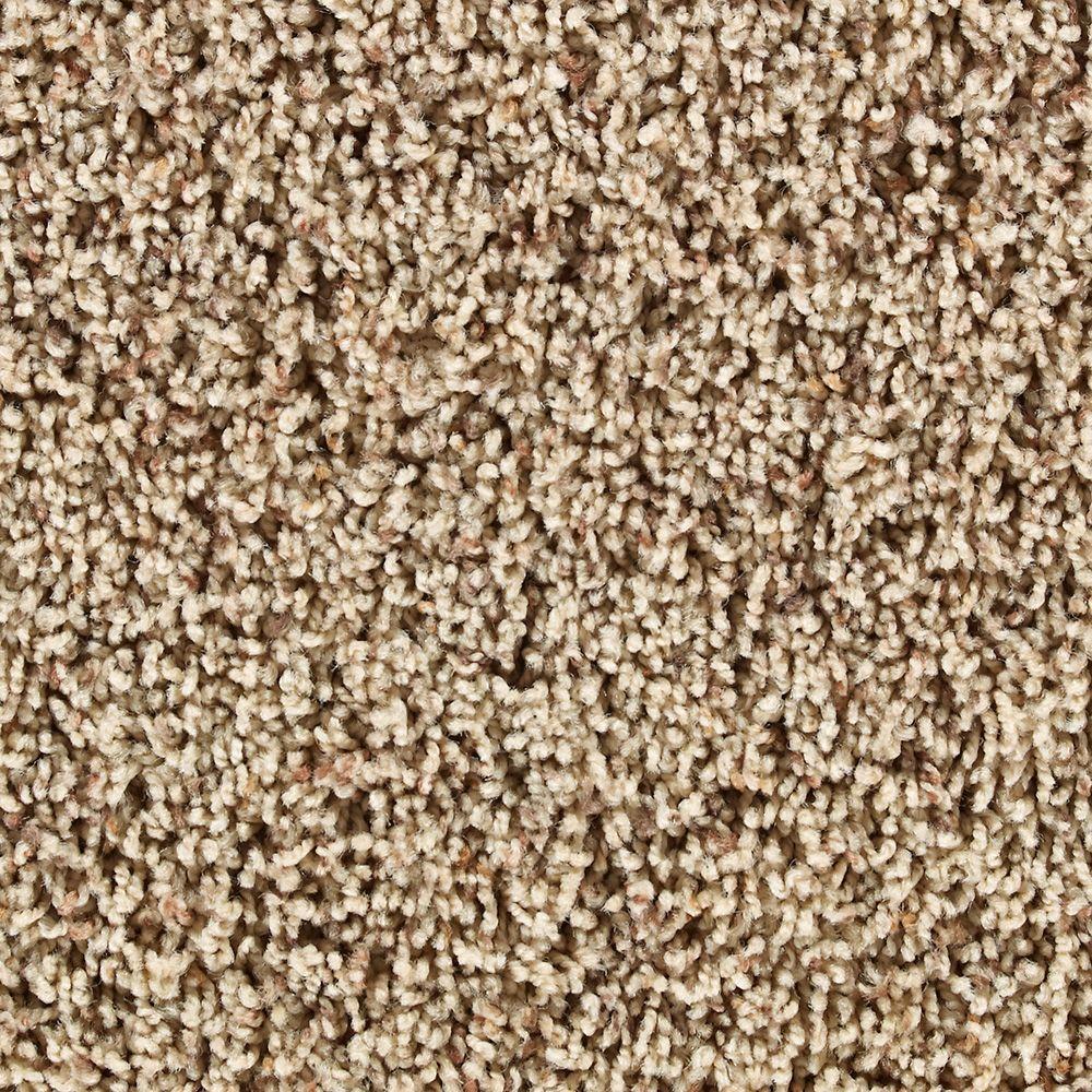 Martha Stewart Living Blenheim Brown Alpaca - 6 in. x 9 in. Take Home Carpet Sample-DISCONTINUED