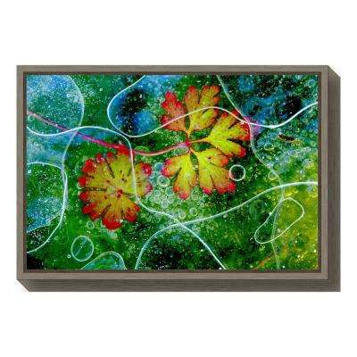 """Thaw"" by Andres Miguel Dominguez Framed Canvas Wall Art"