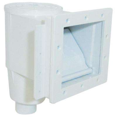 Dyna-Skim Low Profile Series 1.5 in. FPT Vinyl In Ground Skimmer Front and Top Basket Access