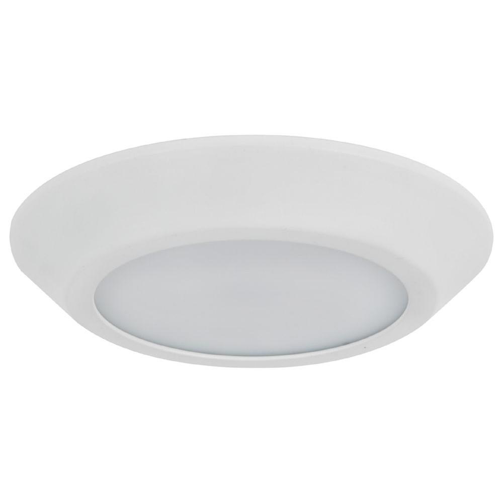 ADL Lumin White Indoor LED Disk Light