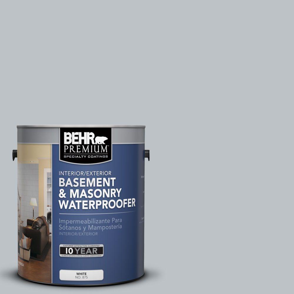 BEHR Premium 1 gal. #BW-44 Moonstone Gray Basement and Masonry Waterproofer