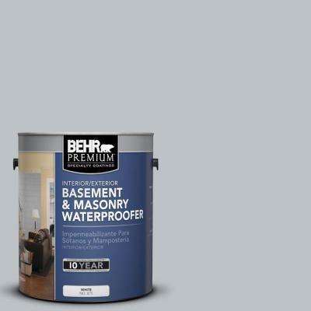 1 gal. #BW-44 Moonstone Gray Basement and Masonry Waterproofer