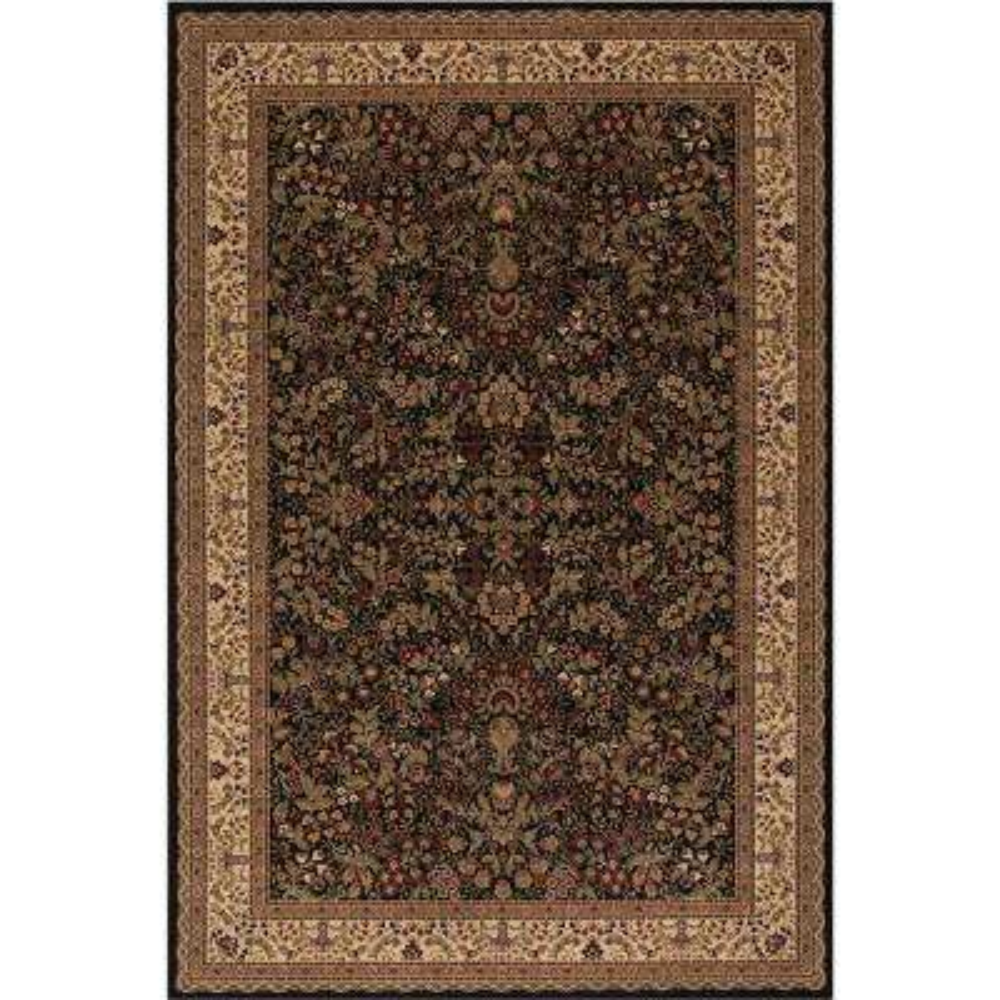 Persian Classics Sarouk Black 7 ft. x 10 ft. Area Rug