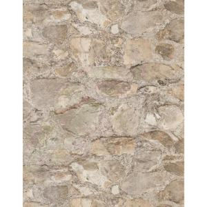 York Wallcoverings Weathered Finishes Field Stone Wallpaper by York Wallcoverings