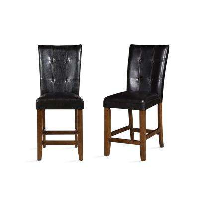 Cavett Brown Counter Chair (Set of 2)