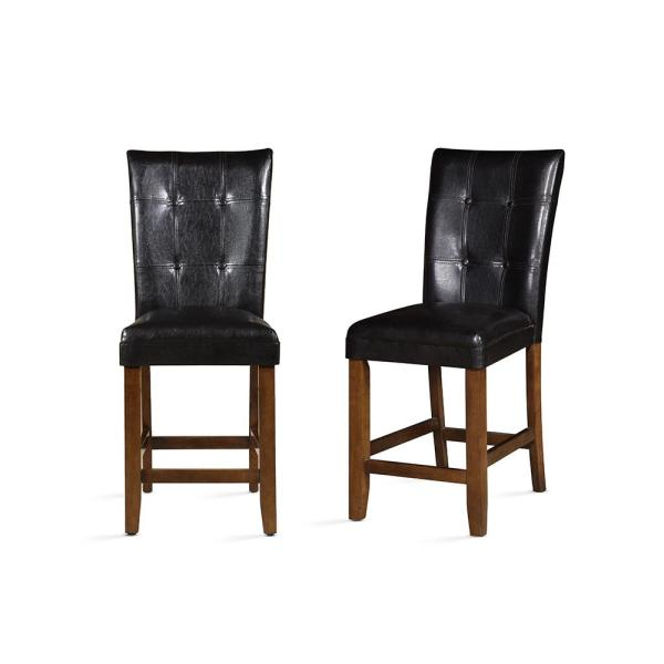 Steve Silver Cavett Brown Counter Chair (Set of 2) CV480CC
