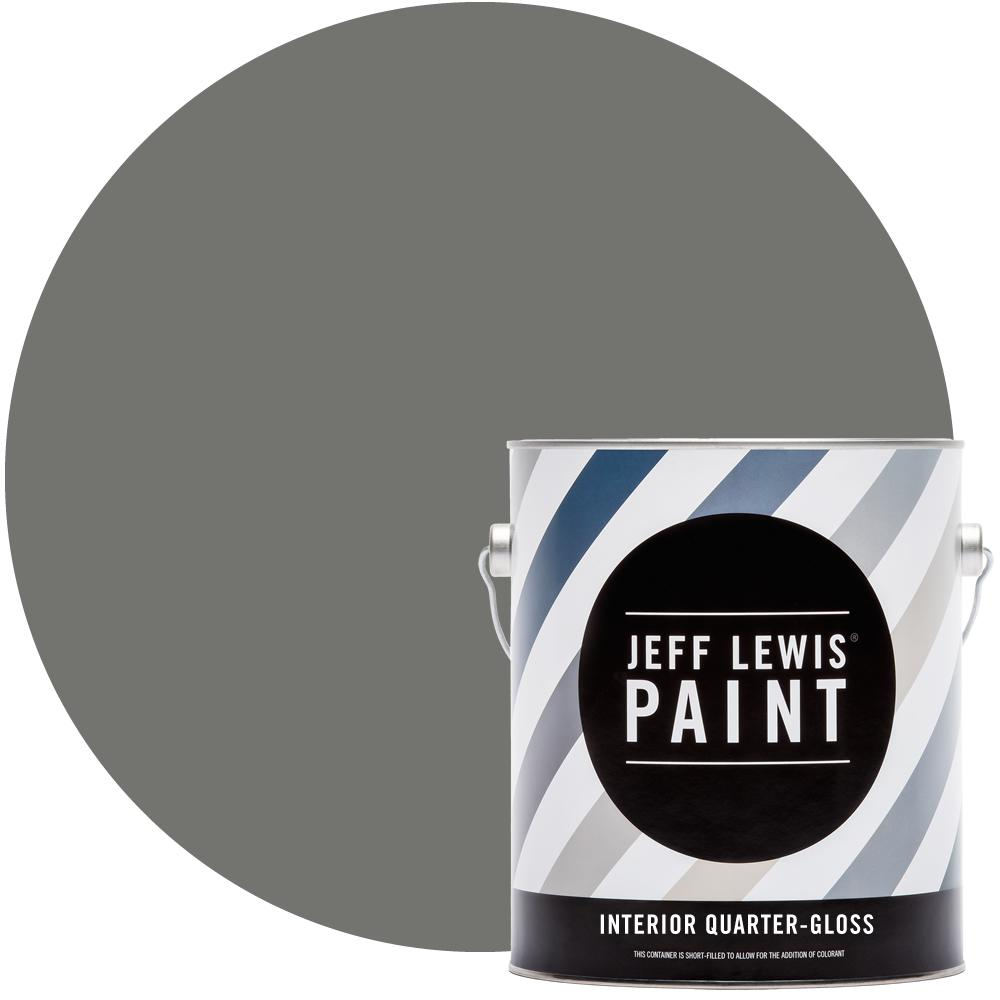 Jeff Lewis 1 gal. #412 Perfect Storm Quarter-Gloss Interior Paint