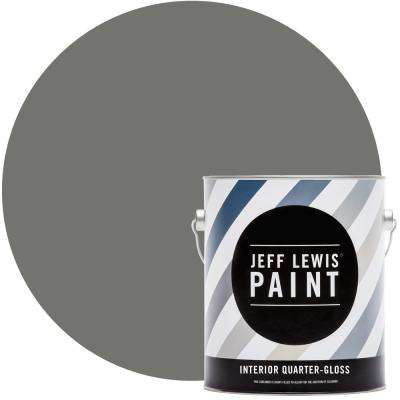 1 gal. #412 Perfect Storm Quarter-Gloss Interior Paint