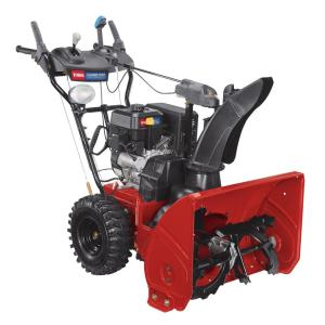 2 stage snow blower toro power max 826 oxe 26 in 252cc two stage electric 28976