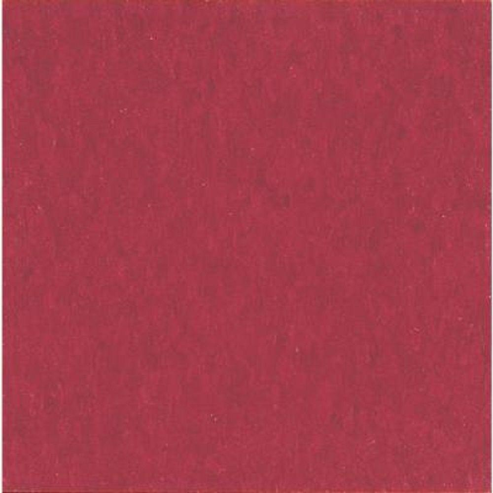 Armstrong Take Home Sample - Imperial Texture Cherry Red Standard Excelon Vinyl Tile - 6 in. x 6 in.