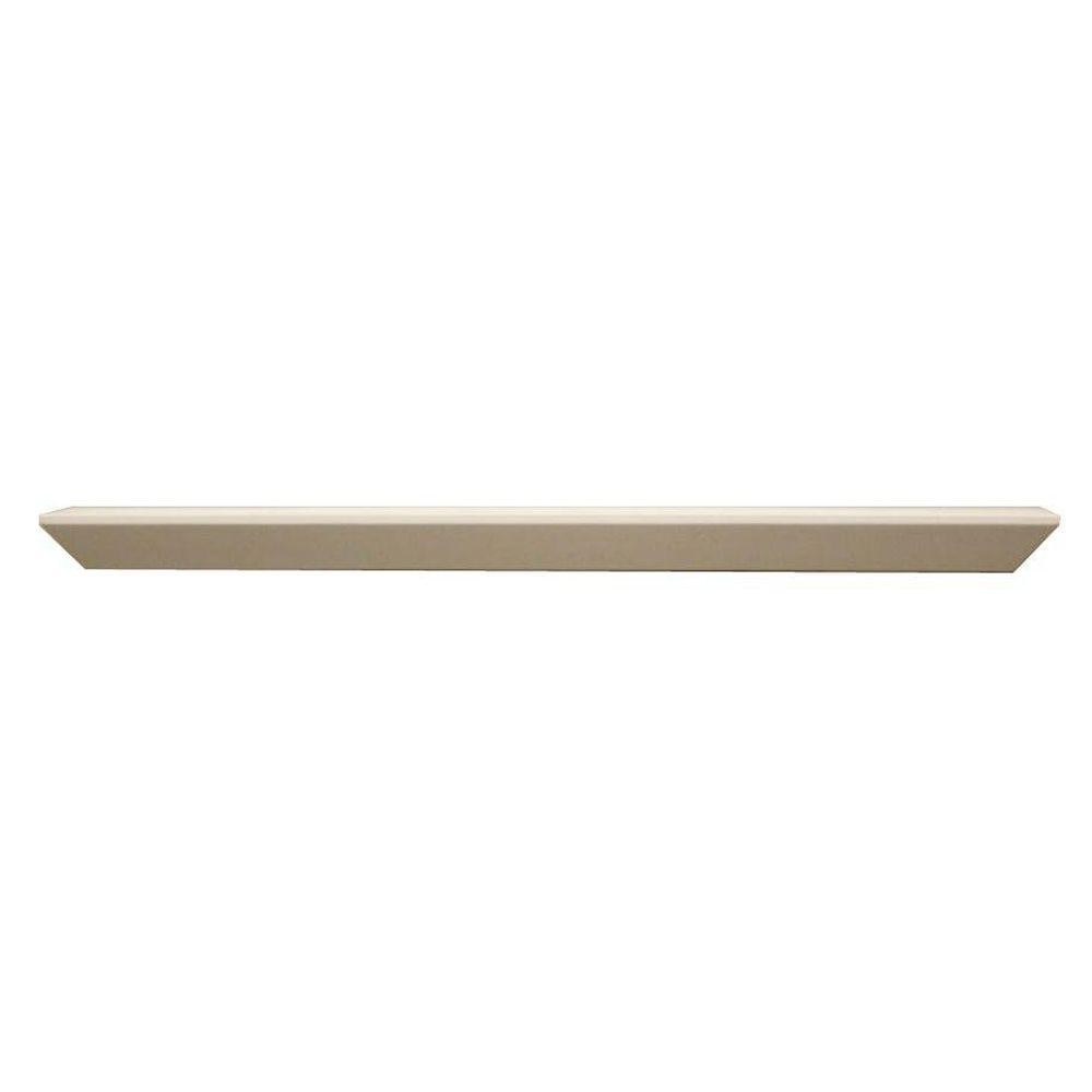 Lewis Hyman 23 in. x 4 in. White Floating Accent Ledge-DISCONTINUED