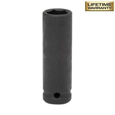 1/2 in. Drive 17 mm 6-Point Deep Impact Socket