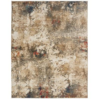 Sand Tones and Multi 10 ft. 2 in. x 13 ft. 2 in. Area Rug