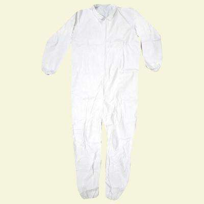 2XL White Lightweight Coverall