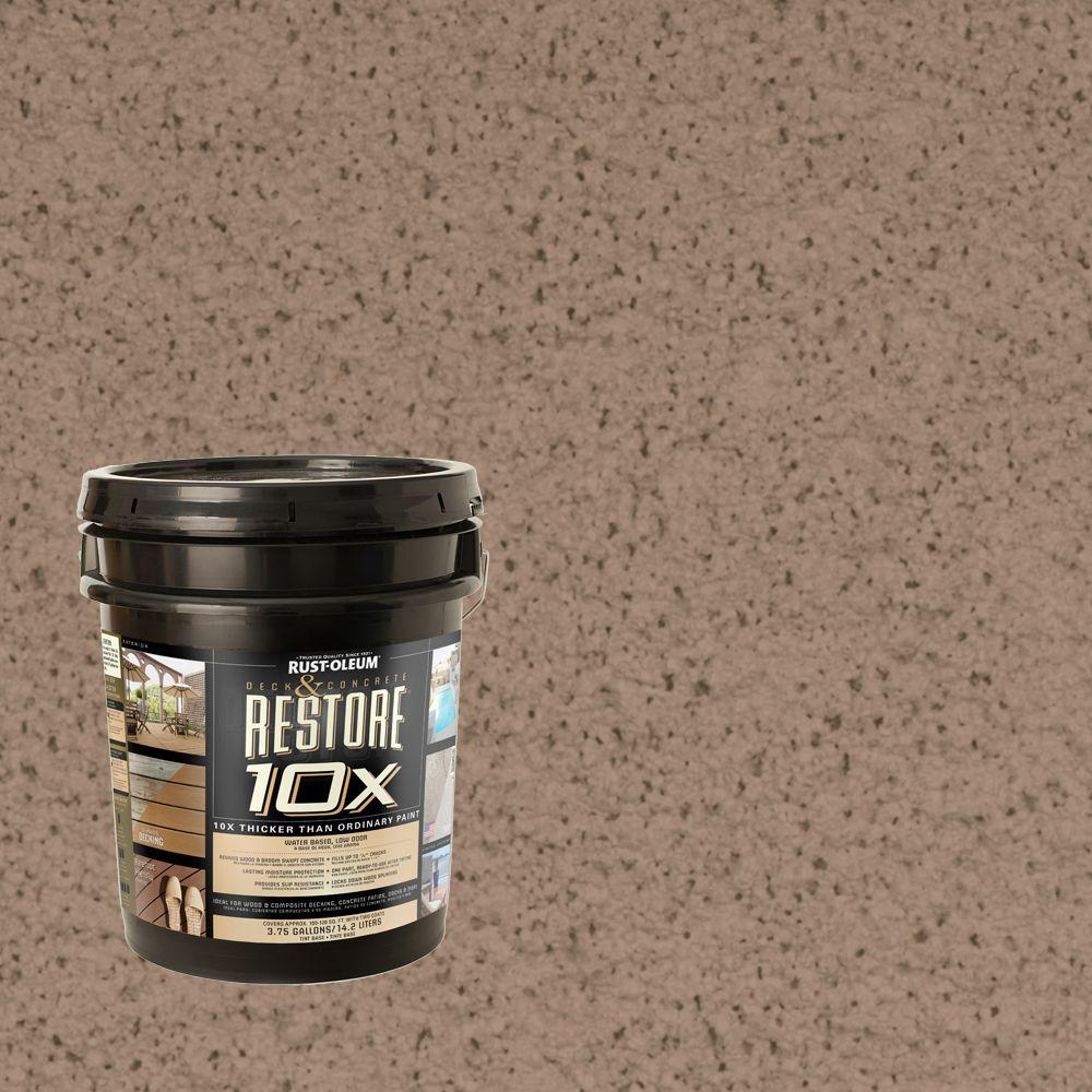 Rust-Oleum Restore 4-gal. Camel Deck and Concrete 10X Resurfacer