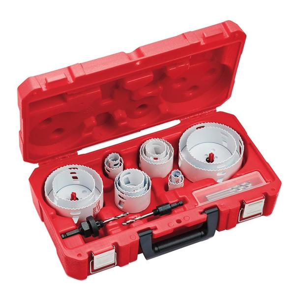 Milwaukee Hole Dozer Electricians Bi-Metal Hole Saw Set (19-Piece)