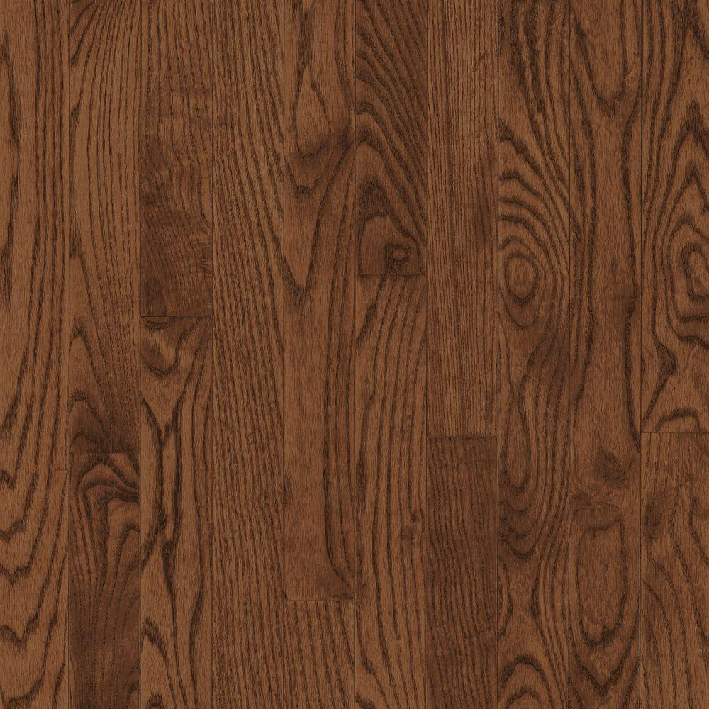 Bruce American Vintage Sed Mocha 3 4 In Thick X 5 Wide Varying Length Solid Hardwood Flooring 23 Sq Ft Case Samv5mc The Home Depot