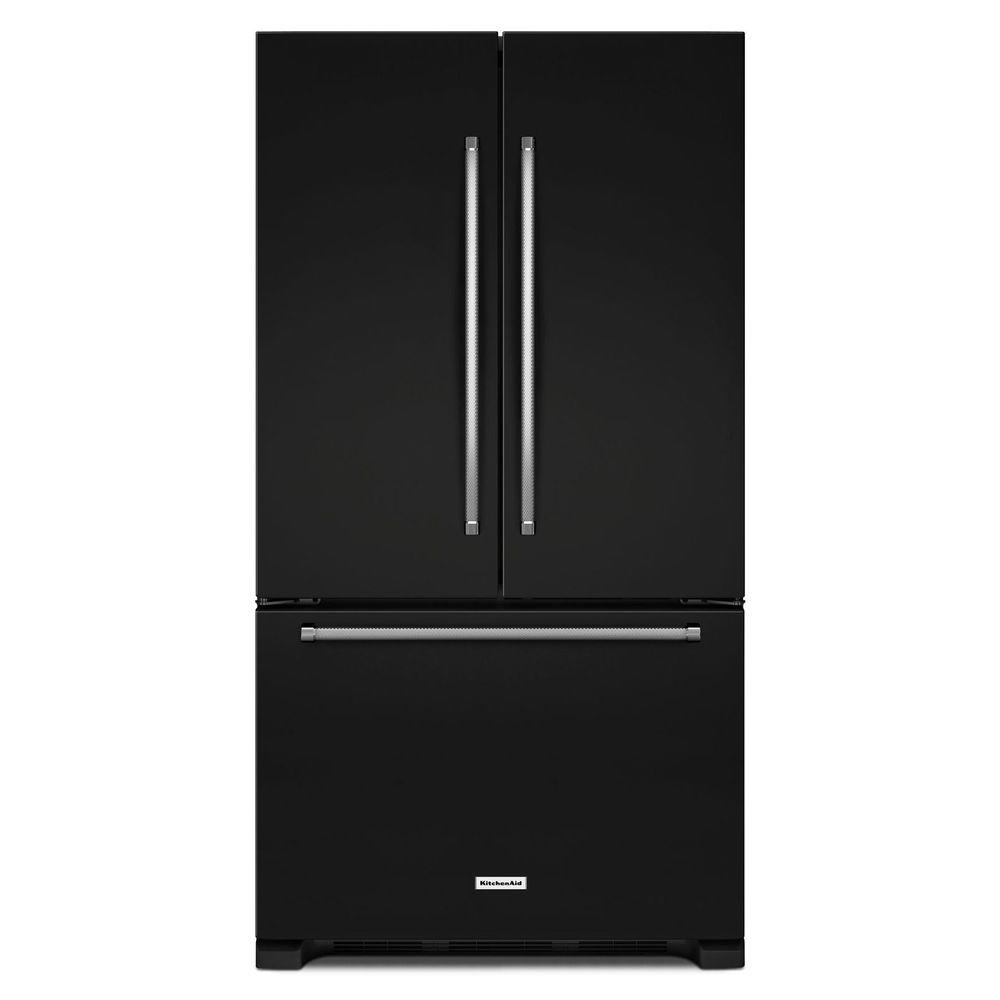 KitchenAid 36 In. W 20 Cu. Ft. French Door Refrigerator In