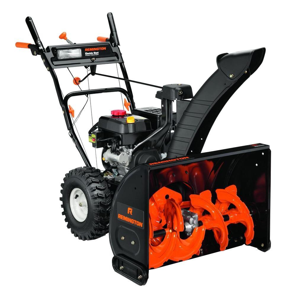 Remington RM2860 28 in. 243cc 2-Stage Electric Start Gas Snow Blower