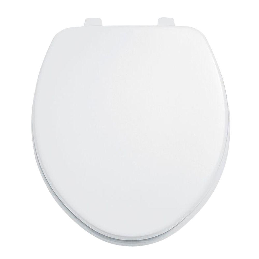 American Standard Laurel Round Closed Front Toilet Seat in White