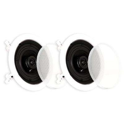 In-Ceiling Speakers Surround Home Theater Contractor Pair