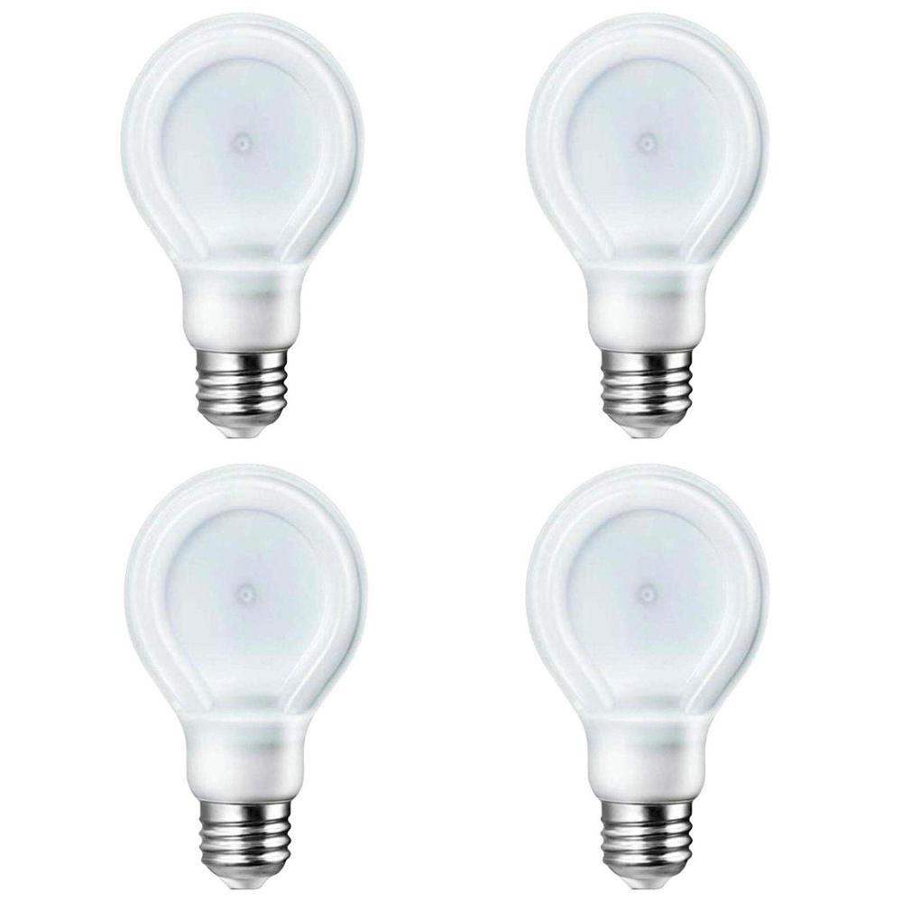 Philips SlimStyle 75W Equivalent Soft White (2700K) A21 Dimmable LED Light Bulb (E*) (4-Pack)