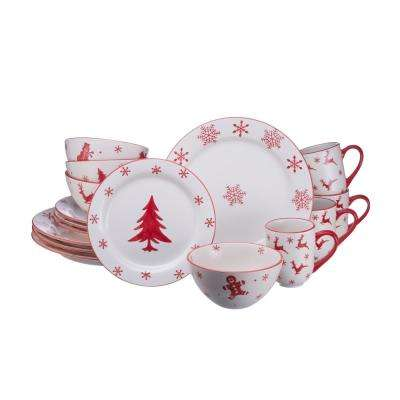 Winterfest 16-Piece Dinnerware Set