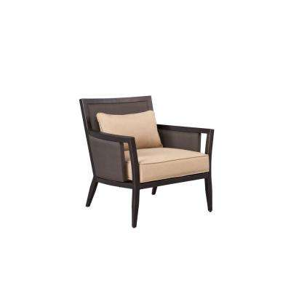Greystone Patio Lounge Chair with Harvest Cushions -- CUSTOM