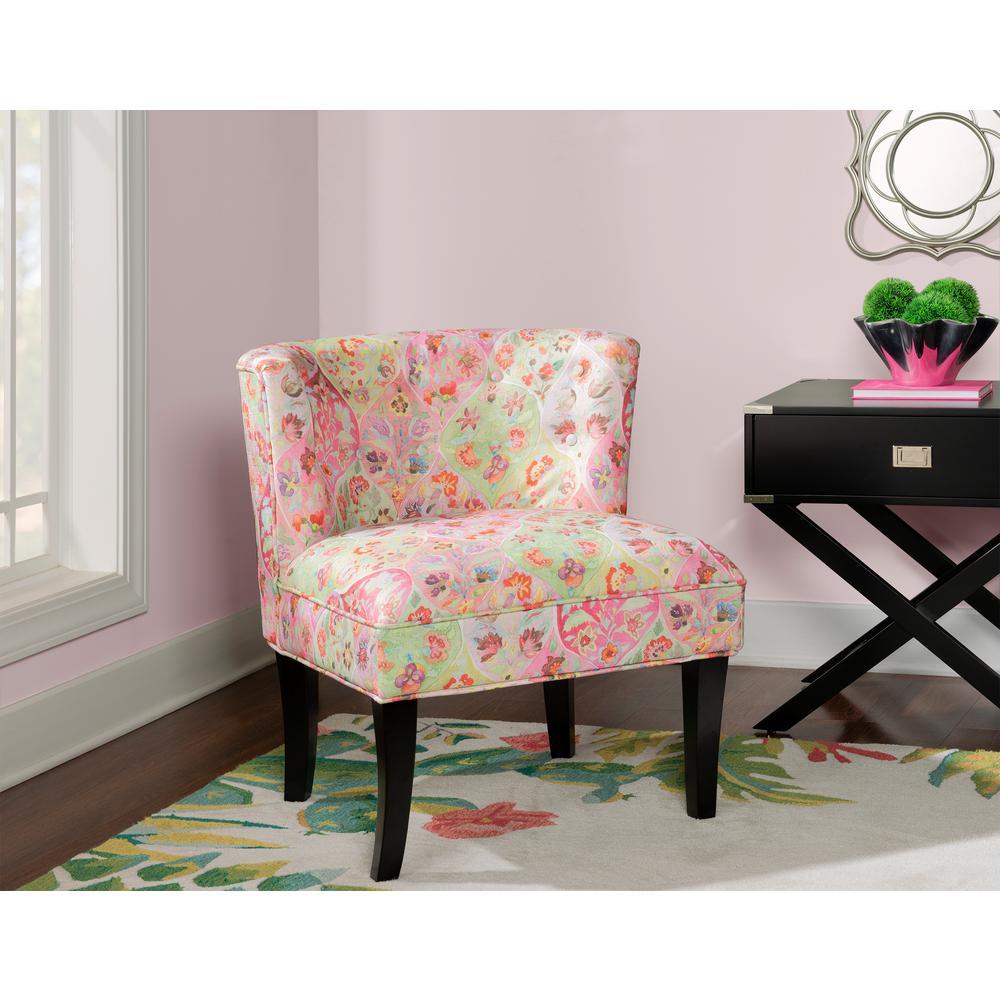 Bluffton Black Accent Chair