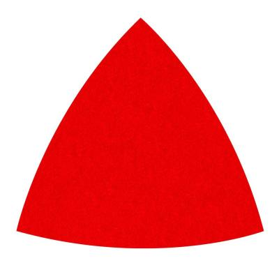 3-3/4 in. 220-Grit Fine Oscillating Detail Triangle Sanding Sheets (10-Pack)