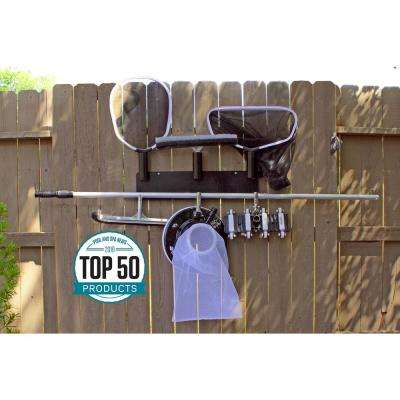 Swimming Pool and Spa Maintenance Tool Organizer