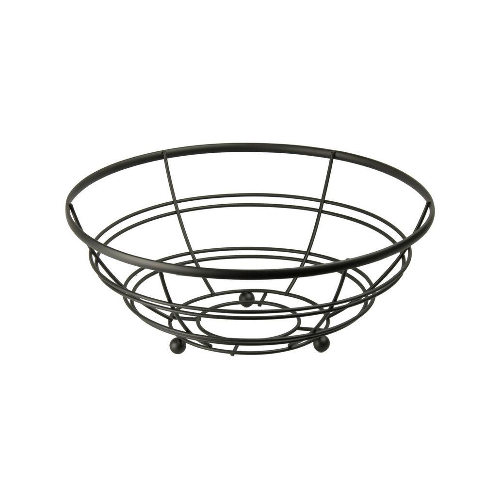 Home Basics Fruit Bowl in Black FB01995
