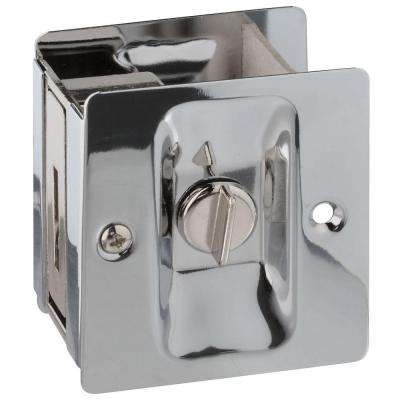 Chrome Pocket Door Latch