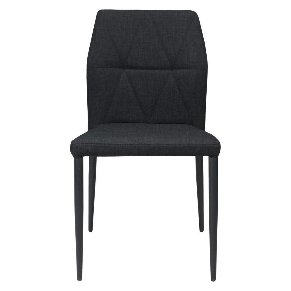 Revolution Black Dining Chair (Set of 2)