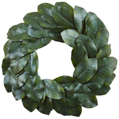 Magnolia Leaf 24 in. Wreath