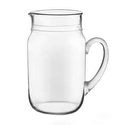82 oz. Clear Drinking Jar Pitcher